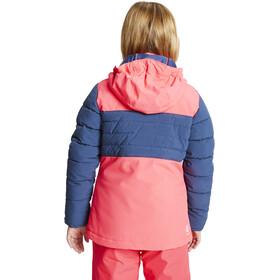 Dare 2b Freeze Up Chaqueta Aislante Impermeable Niños, rosa/azul